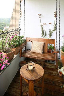 2013最美阳台装修图小空间紧凑出的美