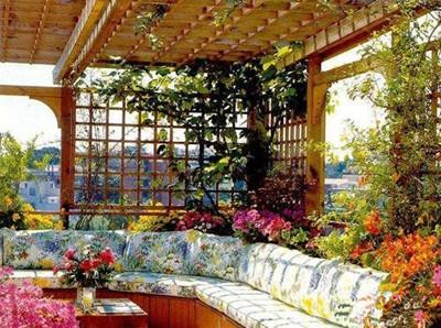 家庭屋顶花园设计 4款打造私密空间