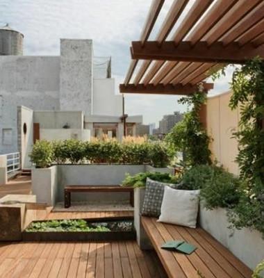 家庭屋顶花园设计4款打造私密空间