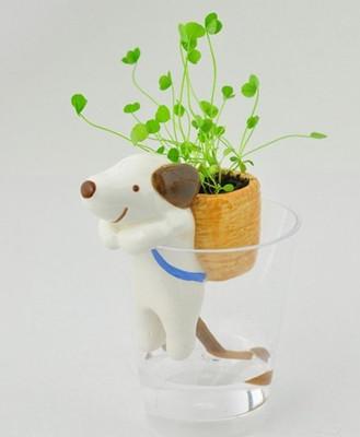 家居饰品小盆栽植物 可爱迷你小动物