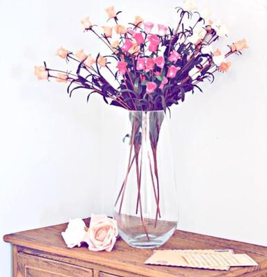 花瓶的折法步骤图解简洁大方