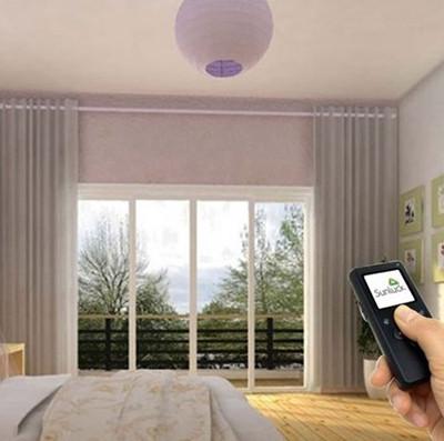 基于单片机的智能窗帘的遥控器设计的电路原理图