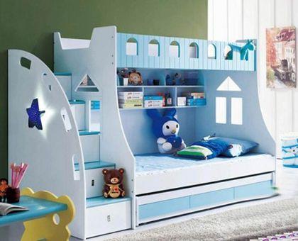 2013年儿童房高低床装修效果图
