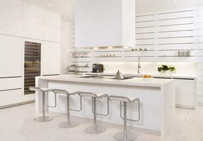 4款白色橱柜效果图 亮丽清新你的厨房