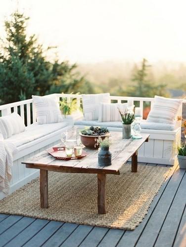 """> 10款露天阳台装修效果图推荐   """" 不是仅有面积超百米的花园才能有"""