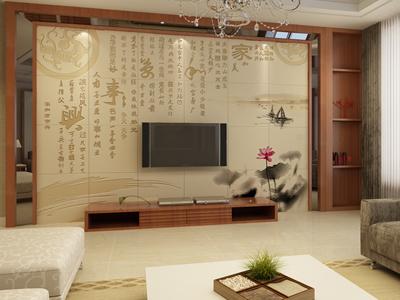 电视背景墙装修效果图大全—客厅背景墙;;