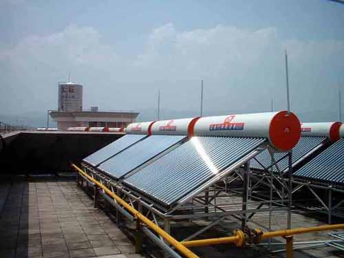 太阳能热水器如何正确安装?