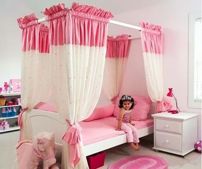 公主儿童房和充满趣味的王子儿童房,一定让你家的小公主小王子满意