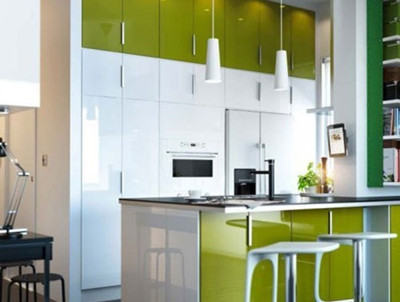 4款厨房带吧台橱柜设计浪漫二人情调生活