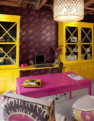 家居装修色彩搭配以纷繁美丽的室内