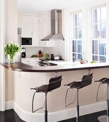 4款厨房带吧台橱柜设计