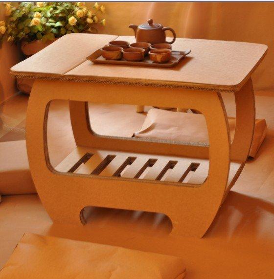 不可思议的创意——超萌的纸质家具