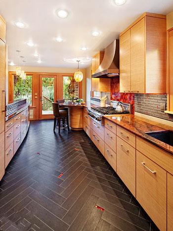 地板瓷砖混搭效果图