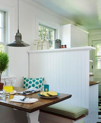 6款角落小餐厅设计图 调剂小资生活