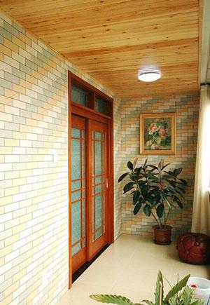 阳台是室内空间的户外延伸,它可以用来晾晒衣物、收纳杂物