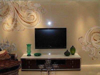 3d壁纸电视背景墙装修效果图