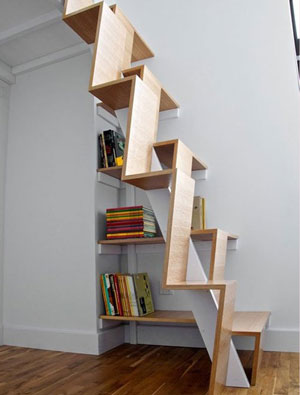 "loft楼梯设计案例 实现家居完美一""跃"""