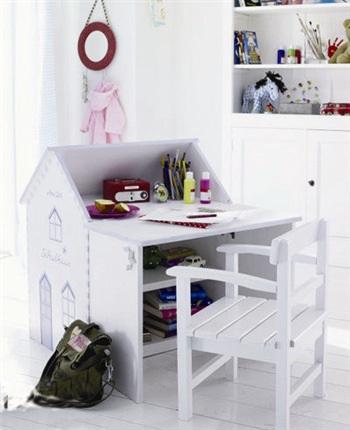 儿童书桌设计装饰效果图