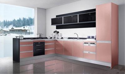 小户型厨房也有春天 5平米内厨房橱柜推荐