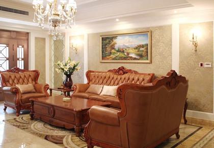 一套奢华欧式风格装修案例图片