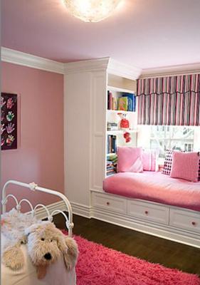 儿童房飘窗设计装修案例