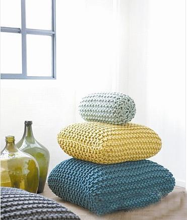 手工编织抱枕