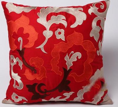中式绣花抱枕,装扮古色古香家居