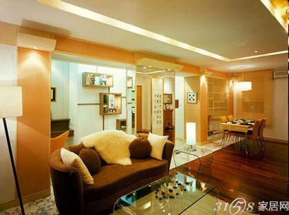 客厅吊顶风水1,天花板颜色宜轻不宜重