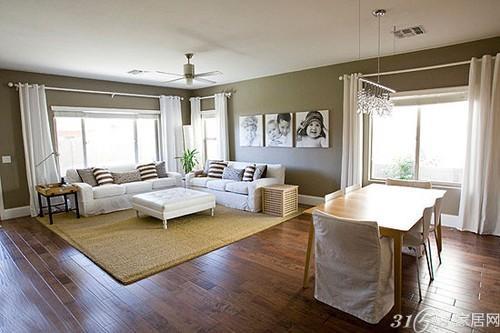 10款小户型客厅设计装修效果图