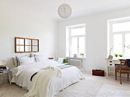 北欧风格公寓装修案例——卧室图片