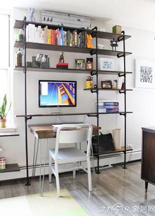 39平小户型装修案例——办公空间