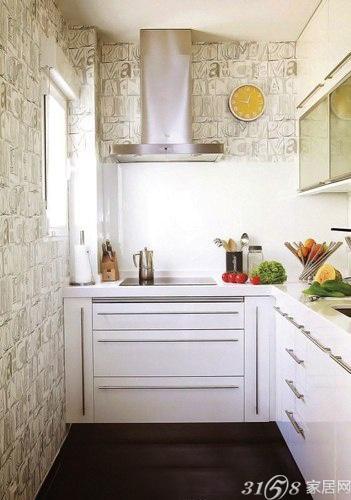 小戶型整體廚房裝修設計圖