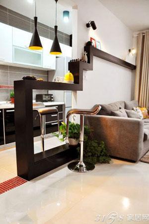 5个吧台橱柜设计 营造厨房惬意生活