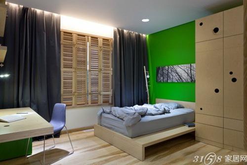 男士卧室装修设计效果图