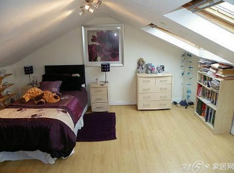 超炫阁楼卧室装修效果图大全