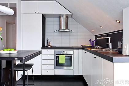 北欧公寓厨房装修