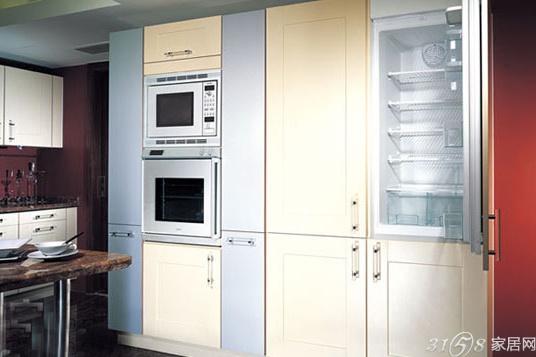 8款嵌入式厨电装修效果图