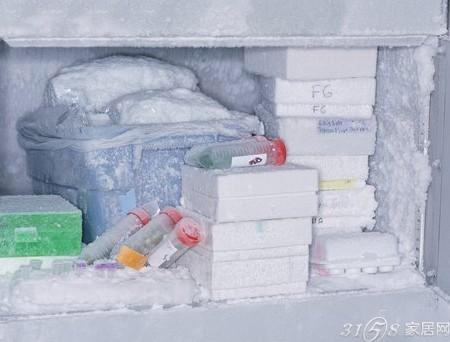 丝袜放冰箱里冷冻_冰箱冷冻室结冰怎么办?怎么去除?-3158家居网