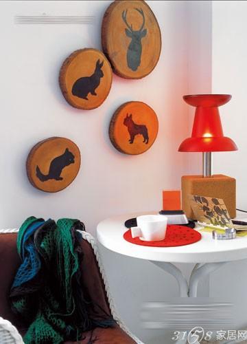 让你为之惊叹的创意墙面装饰效果图