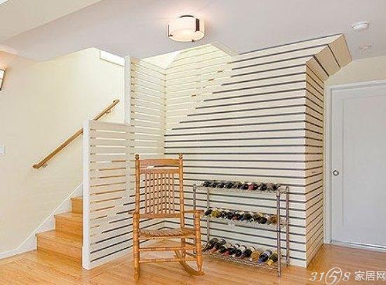 楼梯间隔断设计让你的空间分布更明确; 10个楼梯间隔断设计 复式空间