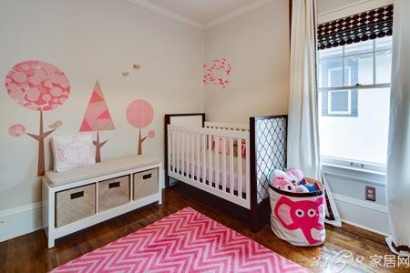 2013年最潮婴儿房装修效果图