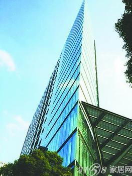 南京现 斧头 状大楼