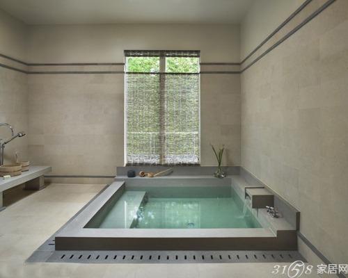 2013最新日式浴缸装修效果图