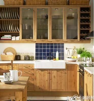 小厨房就装日式风 海量日式厨房装修效果图