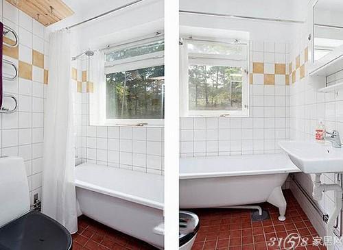 46平一室一厅北欧风格装修案例图片