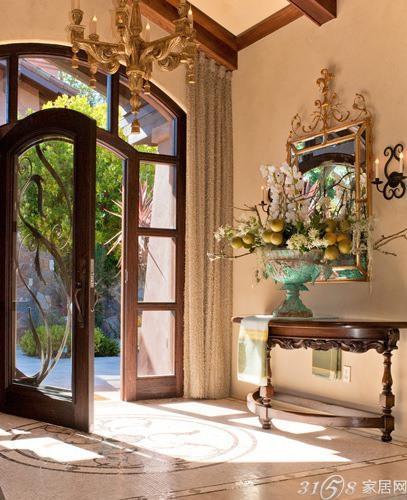 欧式门装修效果图 典雅的欧式风格