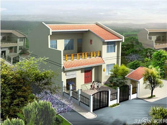 汽车自建房大门两层楼上下需要对齐别墅农村和图片