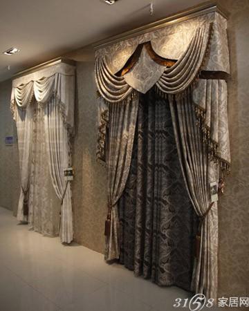 主营欧式风格的窗帘不防将店面装修成欧式风格