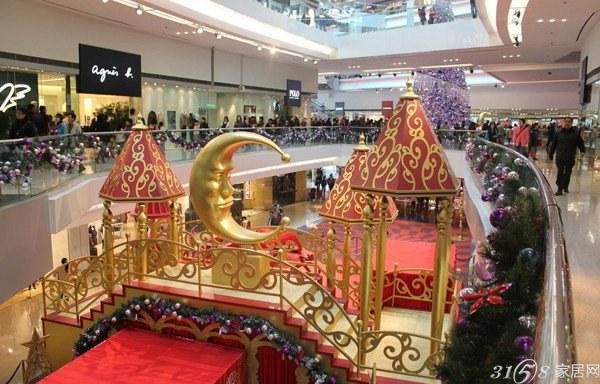 2013年圣诞节商场装饰布置效果图图片
