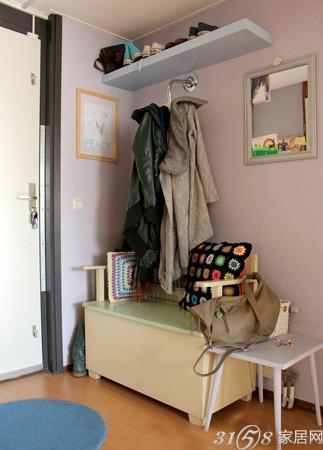 10款门厅鞋柜衣帽柜效果图 高清图片